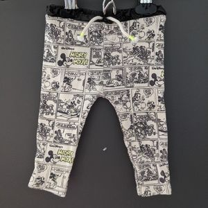 Zara x Disney Mickey Mouse comic strip tights